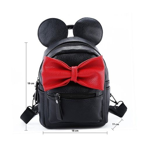 Casual Mickey Mouse PU Leather Shoulder Bag for Women aea273537fd71