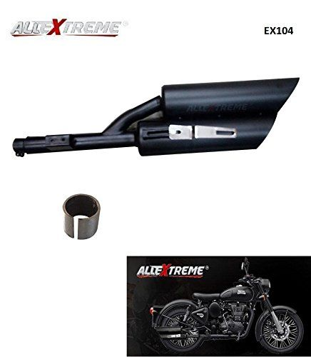 Double Barrel Harley Sound Exhaust Silencer With Glasswool Bush