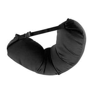 Adjustable Straight Travel Pillow with Microbeads