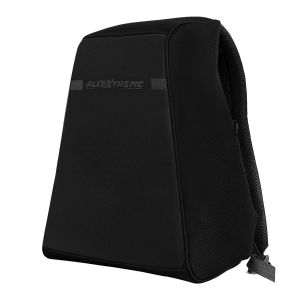 AllExtreme Anti Theft Backpack Water Resistant Oxford Fabric 18 Liters Black Office Laptop Bag