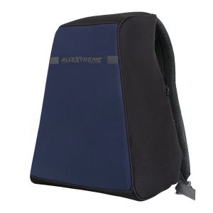 AllExtreme Anti Theft Backpack Water Resistant Oxford Fabric 18 Liters Blue Office Laptop Bag