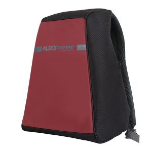 AllExtreme Anti Theft Backpack Water Resistant Oxford Fabric 18 Liters Red Office Laptop Bag