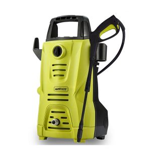 AllExtreme AE-3112 Portable Electric Car Washer Sprayer Cleaner Machine with Detergent Tank, Spray Wand Gun and Multiple Nozzles (1200W, 1450PSI, 1 Year Warranty)