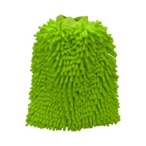 Double Sided Microfiber Wash Mitt Gloves Multipurpose House Car Glass LCD Cleaning (1 Piece)