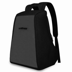 AllExtreme Anti Theft Backpack Water Resistant Oxford Fabric 18 Liters Grey Office Laptop Bag