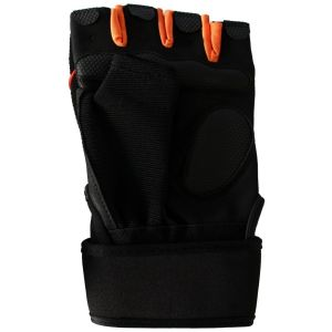 Half Finger Breathable Bike Gloves with Microfiber Leather