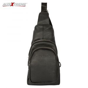 Leather Sling Bag for Travel & Hiking