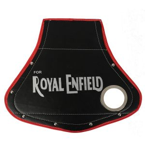AllExtreme EXUMSH1 Rear Customized Universal Mudflap with Silencer Hole Compatible with Royal Enfield Bullet