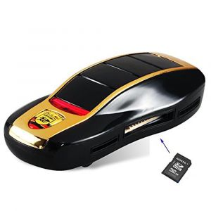 Multi Slot Card Reader Sport Car Shape
