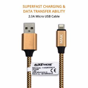 Apple MFi Certified Lightning to USB Charging & Data Sync Cable