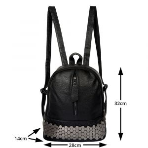 Stylish & Fashionable Leather Backpack for Girls & Ladies