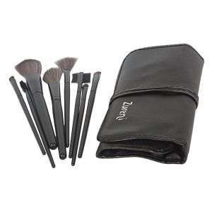 Zureni Makeup Brushes with Organizer Bag - 12 Pcs