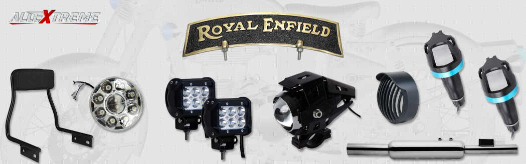 Embellish Your Royal Enfield with Bullet Accessories