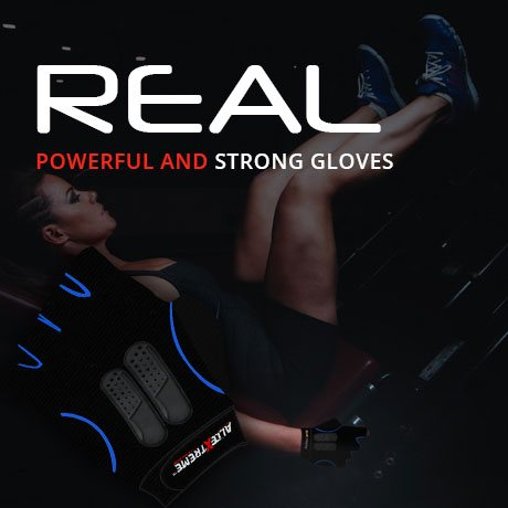 Real Powerful and Strong Gloves